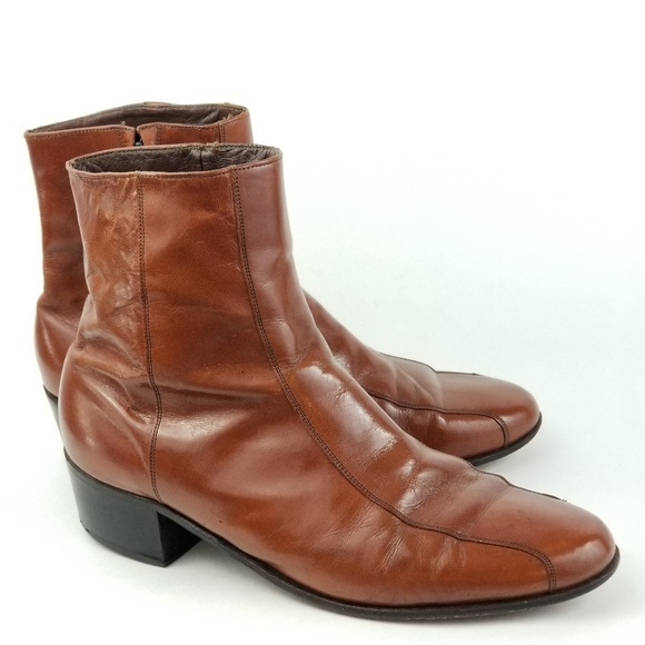new specials preview of running shoes Florsheim Mens Ankle Boots 70s Disco Retro 11.5